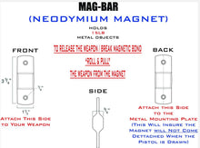 MAG-BAR® Mounting System for ALL Pistols