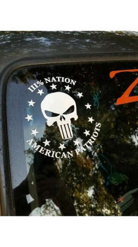 Three Percent Nation Decal and Sticker Pack