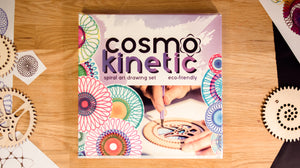 Cosmokinetic spiral art drawing set