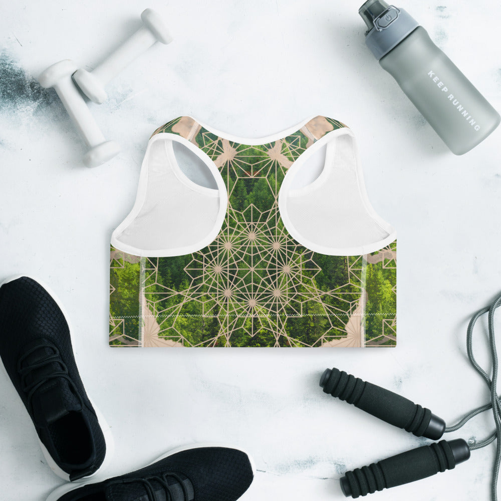 Forest Soul Padded Sports Bra