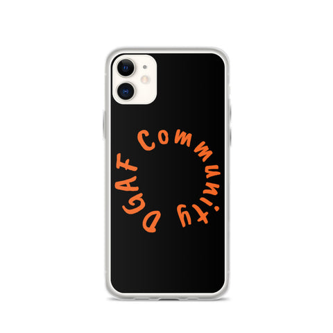 DGAF Community iPhone Case