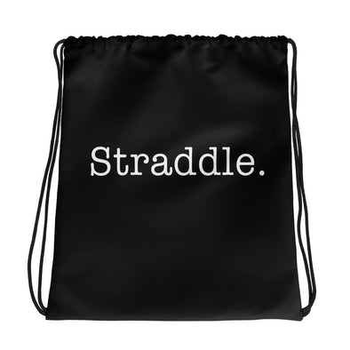Straddle. Drawstring Bag