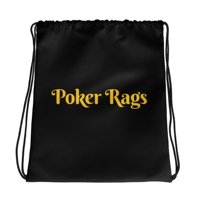 Poker Rags Drawstring Bag