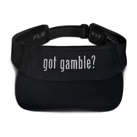 got gamble? Visor