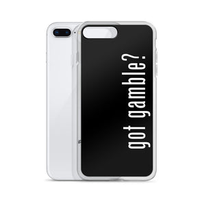 got gamble? iPhone Case