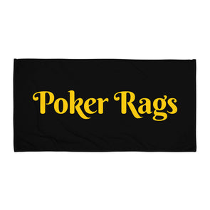 Poker Rags Towel
