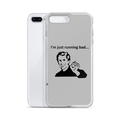 Running Bad iPhone Case