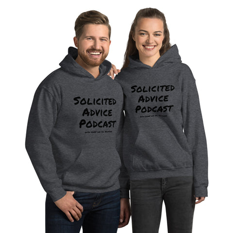 Solicited Advice Podcast Heavy Duty Hoodie