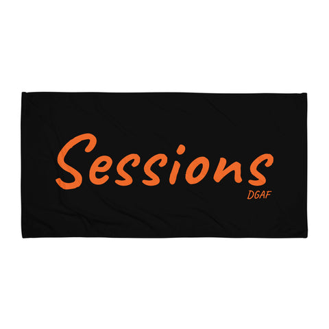 (DGAF's Poker) Sessions Towel