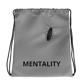 Cockroach Mentality Drawstring Bag