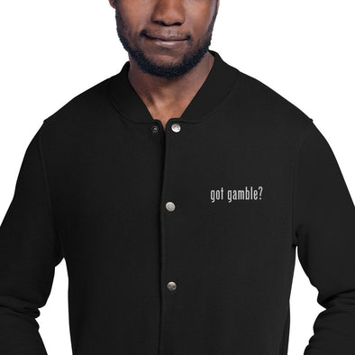 got gamble? Heavy Duty Jacket
