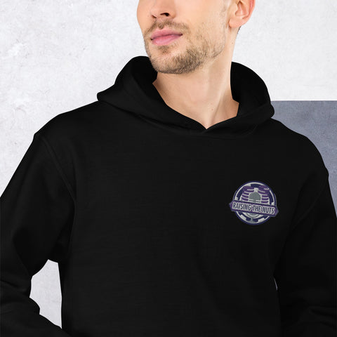 Raising The Nuts Embroidered Heavy Duty Hoodie