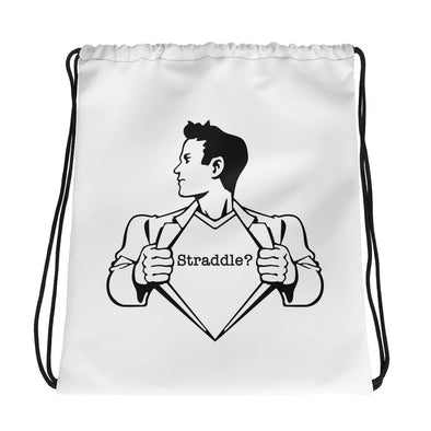 Superstraddleman Drawstring Bag