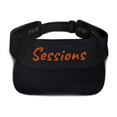 (DGAF's Poker) Sessions Embroidered Visor