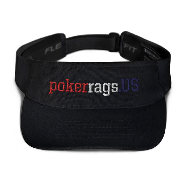 pokerrags.US Embroidered Visor