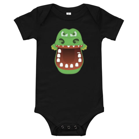 Croc Teeth Onesie