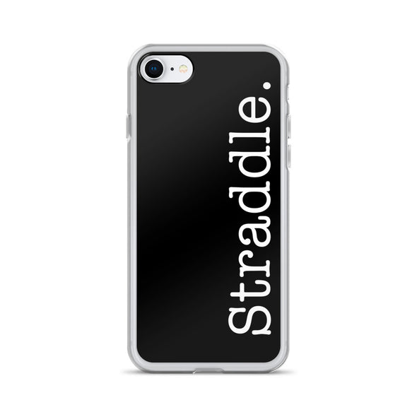 Straddle. iPhone Case