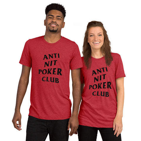 Anti Nit Poker Club T-Shirt (choose your color)