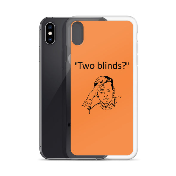 Two Blinds iPhone Case