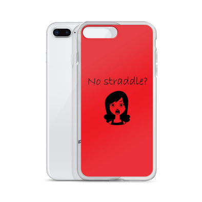 Straddle Crisis iPhone Case