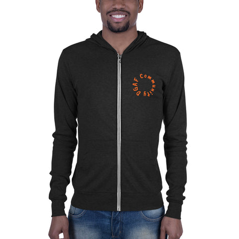 DGAF Community Lightweight Zip-Up