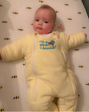 Transitioning Out of the Swaddle and Into Baby Merlin's Magic Sleepsuit