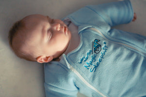 Blue Microfleece Magic Sleepsuit