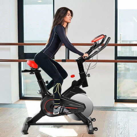 Exercise Bike | Stationary | 15 Lbs Flywheel-Exercise Bikes-Ambitious Athletic Goods