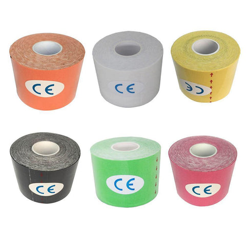 Kinesiology Tape | Pack Of 6 Rolls | 6 Colors-Kinesiology Tape-Ambitious Athletic Goods