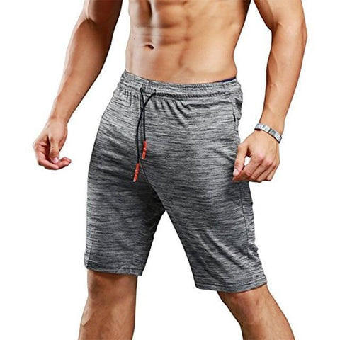 Men's Faded Solid Color Exercise Shorts - 1 Color-Men's Shorts-Ambitious Athletic Goods