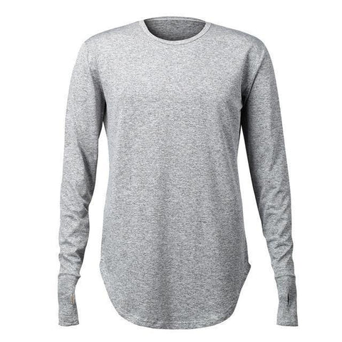 Men's Faded Solid Color Long Sleeve Shirt - 3 Colors-Men's Long Sleeve Shirts-Ambitious Athletic Goods