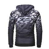Men's Gradient Camouflage Pullover Hoodie - 2 Colors-Men's Hoodies-Ambitious Athletic Goods