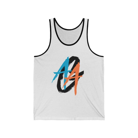 Men's Tank Top | A.A.G. Exclusive Design - Black Logo | 16 Colors-Men's Tank Tops-Ambitious Athletic Goods