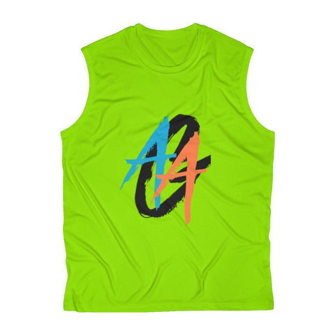 Men's Tank Top | Dri-Fit | A.A.G Exclusive Design - Black Logo | 6 Colors-Men's Tank Tops-Ambitious Athletic Goods