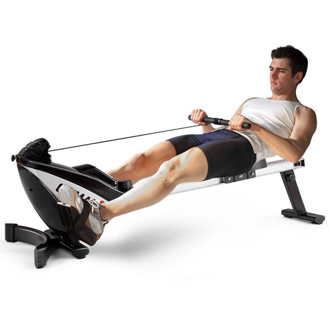 Rowing Machine | 8 Levels Of Magnetic Resistance | Foldable-Rowing Machines-Ambitious Athletic Goods