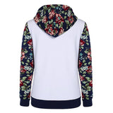 Women's Floral Pullover Hoodie - 3 Colors-Women's Hoodies-Ambitious Athletic Goods