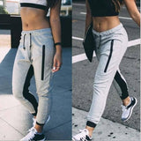 Women's Jogger Sweatpants With Stripe On Inside Of Legs - 1 Color-Women's Jogger Sweatpants-Ambitious Athletic Goods