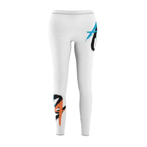 Women's Leggings | A.A.G. Exclusive Design - Black Logo | 2 Colors-Women's Leggings-Ambitious Athletic Goods