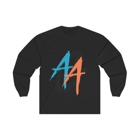 Women's Long Sleeve Shirt | A.A.G. Exclusive Design - Black Logo | 13 Colors-Women's Long Sleeve Shirts-Ambitious Athletic Goods