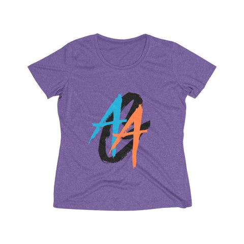 Women's O-Neck T-Shirt | Dri-Fit | A.A.G. Exclusive Design - Black Logo | 9 Colors-Women's T-Shirts-Ambitious Athletic Goods