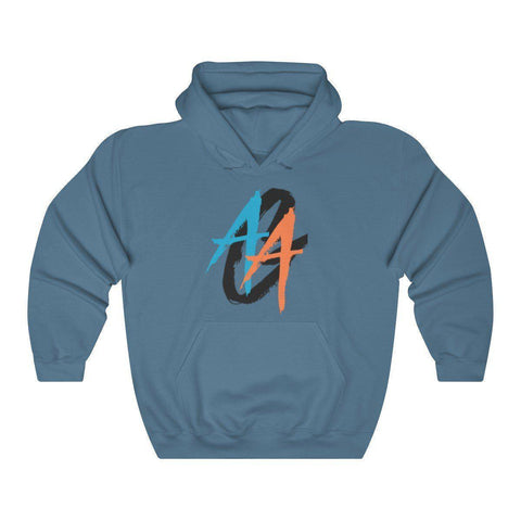 Women's Pullover Hoodie | A.A.G. Exclusive Design - Black Logo | 20 Colors-Women's Hoodies-Ambitious Athletic Goods