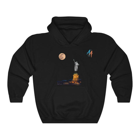 Women's Statue Of Babe Ruth Pullover Hoodie - Exclusive A.A.G. Design - 14 Colors-Women's Hoodies-Ambitious Athletic Goods