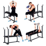Workout Bench | Flat | Barbell Racks-Benches-Ambitious Athletic Goods