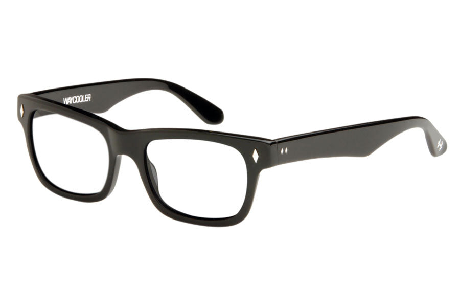 Tres Noir Waycooler Clear Lenses Black