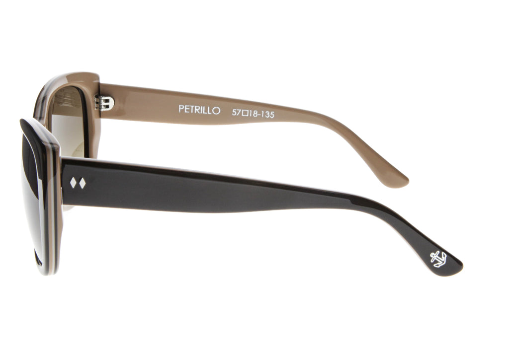 Tres Noir Petrillo Brown Mocha Side