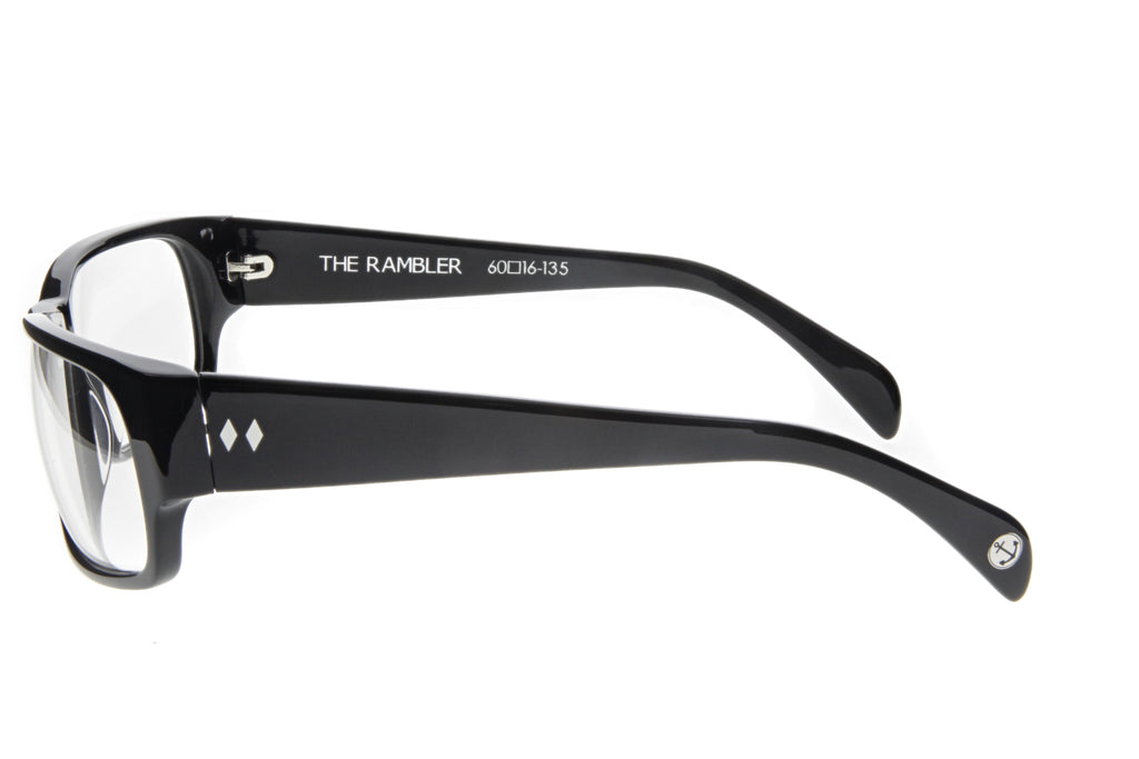 Tres Noir The Rambler Black Clear Side