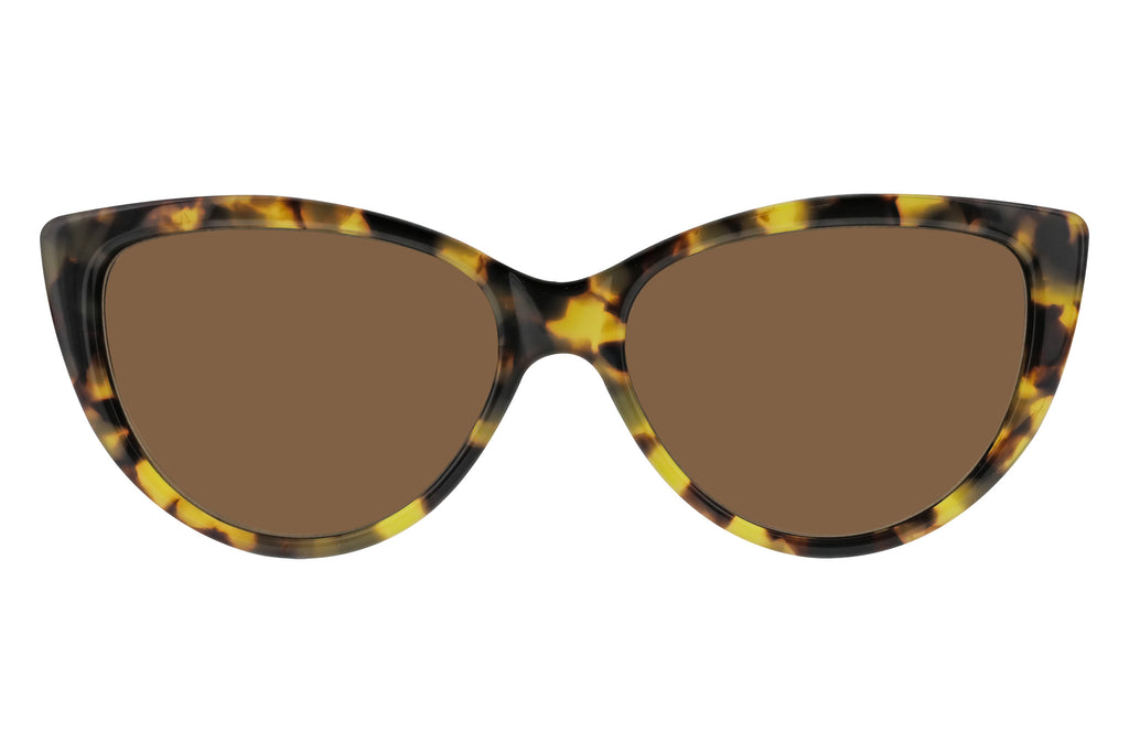 Ultra Lux Blonde Tortoise - Brown Lenses Front