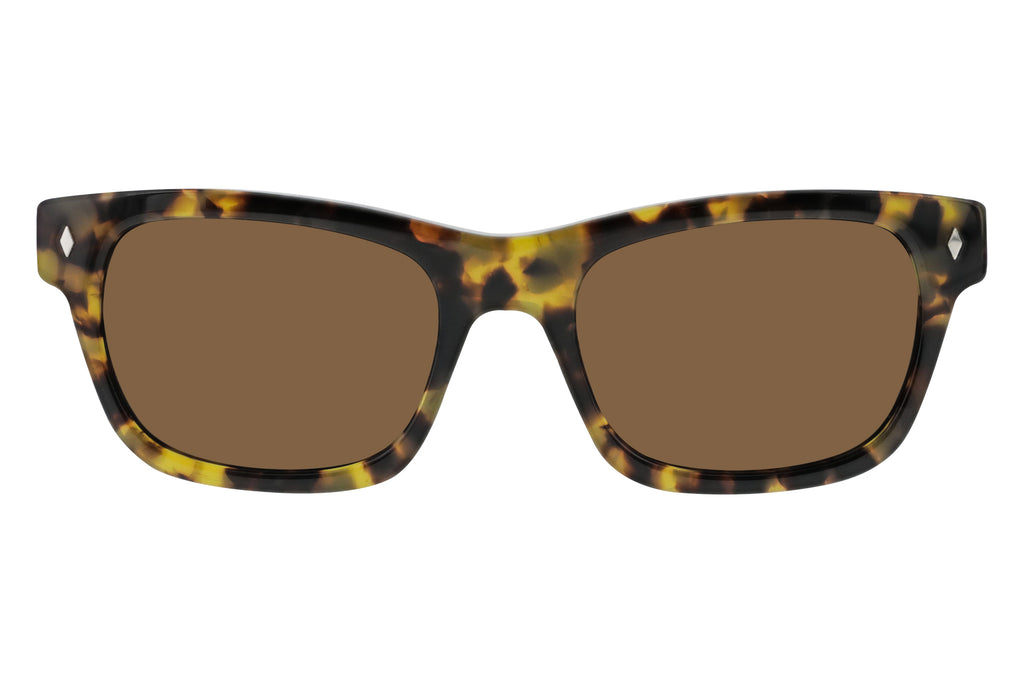 Waycooler - Blonde Tortoise Brown Lenses  Front