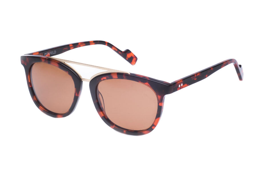 Crimson Visual : Penfeld - Havana Tortoise / Brown Polarized Lens