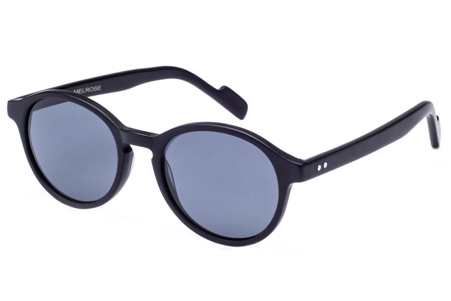Crimson Visual : Melrose - Matte Black / Smoke Polarized